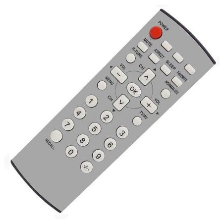 Controle Remoto TV Panasonic EUR7717040P TC-21FX30L TC-21FX32L TC-29FX32L