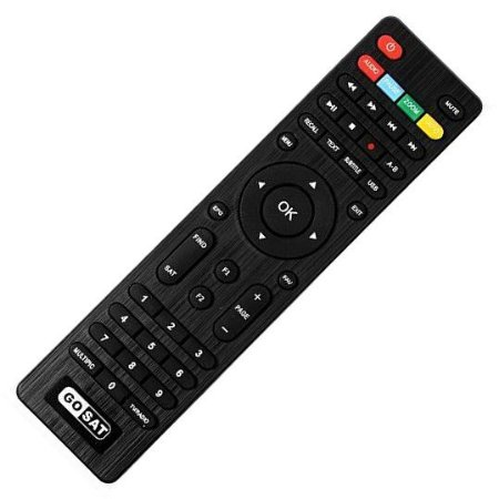 Controle Remoto Receptor GoSat Plus / Cable+ / CS+ / Pro - Mundo ...