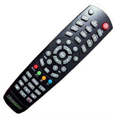 Controle Remoto Receptor Tocomsat Duplo Lite 2 HD