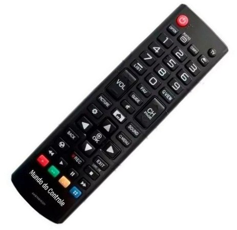 Controle Remoto Tv Lg Smart Led Akb74915320