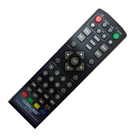 Controle Universal para Conversor Digital, funciona em todas as marcas.