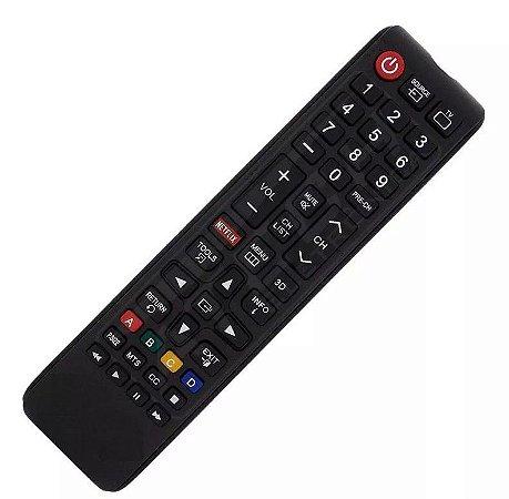 Controle Remoto Tv Samsung Smart 3d Netflix