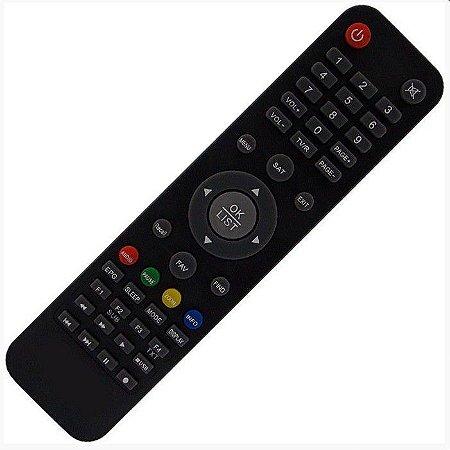 Controle Remoto para receptor  Nazabox NZ 10 HD