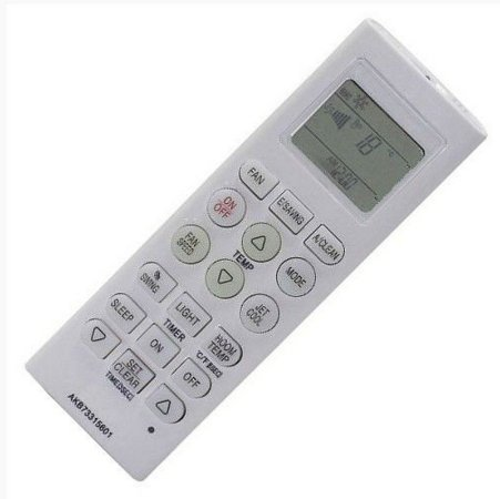 Controle Remoto p/ Ar LG Tsnc122h4w0 Tsnc122tnw5 Tsnc182m4w0 Só Ar Frio