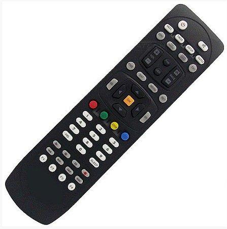Controle Remoto Receptor Azamérica S1006+ Plus HD
