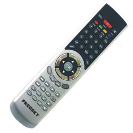 Controle Remoto Para Receptor Freesky 7 NET HD GPRS