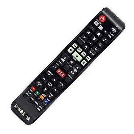 Controle Remoto para  Home Theater Bluray 3d Samsung Ht-E4500 Netflix