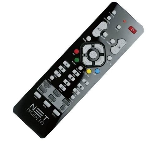 Controle Receptor Net Digital E Hd Max Original