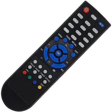 Controle Remoto Receptor Cromus Digital Cad1000 Tv Free