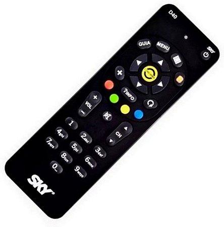 Controle Remoto Para Receptor SKY D40 / SKY Livre / S14 RC64SW / S12 - Original