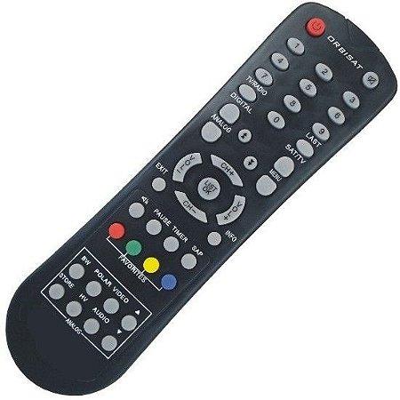 Controle Remoto Antena Parabólica Orbisat S2200 Digital Plus
