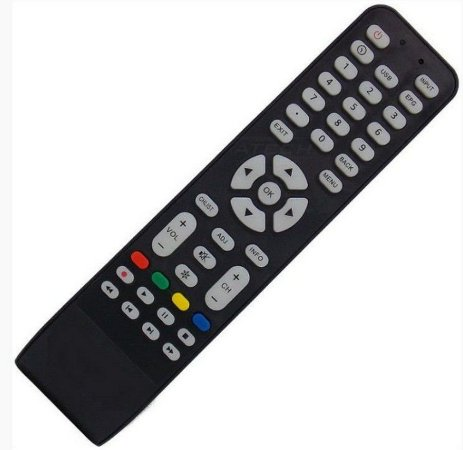 Controle Remoto Tv Aoc  Le40d1452 - Le43d1452 - Le43f1461