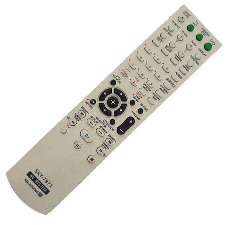 Controle Remoto Para Home Theater Sony Rm-adu005