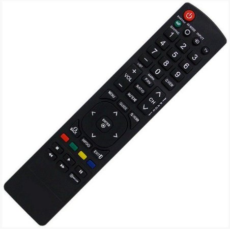 Controle Remoto P/ Tv LG Led 32lv255c / 32lv3500 / 37le5300
