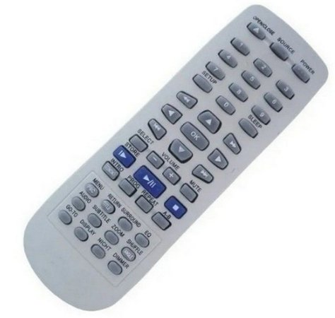 Controle Remoto Home Theater Gradiente Hts-570 / Hts-870
