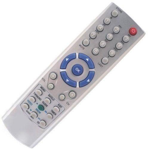 Controle Remoto Receptor Visiontec Vt3000 / Vt3100 / Vt3200 / Vt4000 / VT5000 / VT1000 Slim / VT2000 Slim