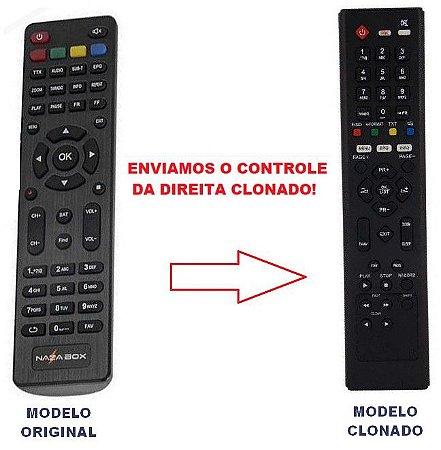 Controle Remoto Para Receptor Nazabox New Mini C