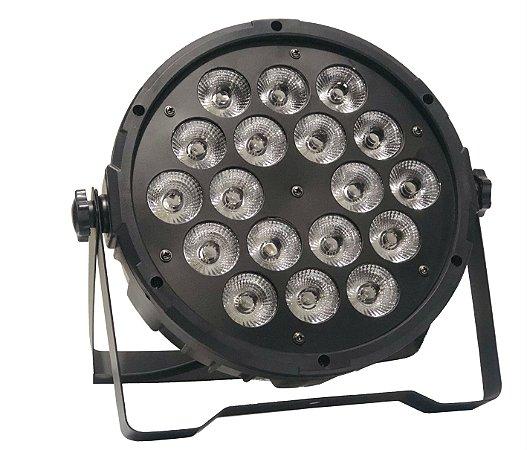 PAR LED RGBW 18 X 3W