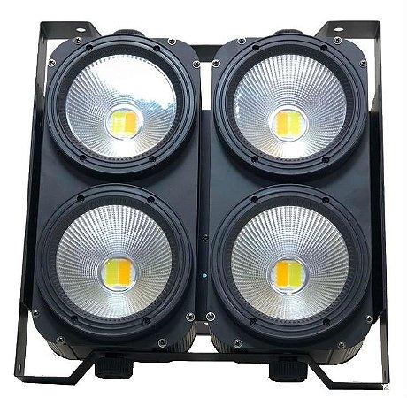 MINI BRUTE LED 4 X 100W BRANCO QUENTE/FRIO