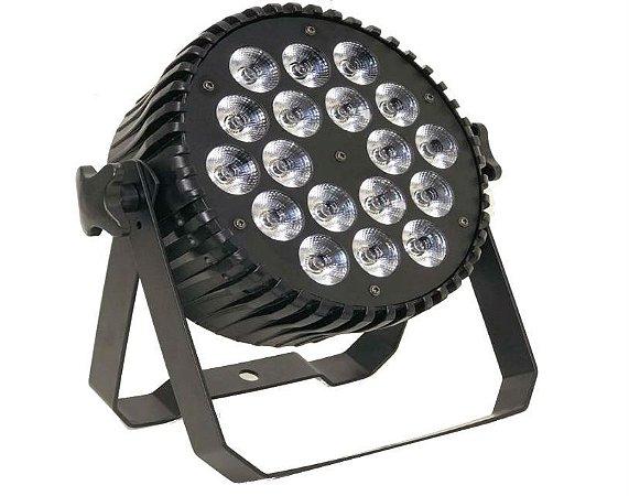 PAR LED RGBW A UV 18X15W