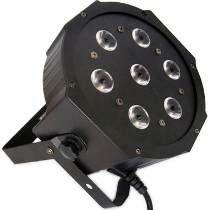 PAR LED RGBW-7 De 8w Dmx