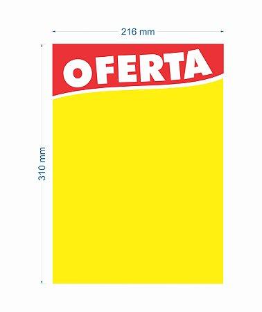 Cartaz de Oferta 216X310MM tamanho MÉDIO (C/100 unidades)