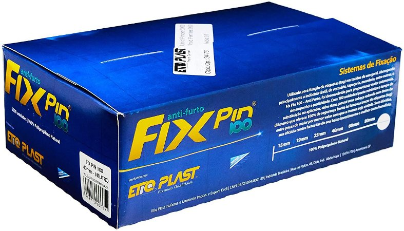 PINO PLASTICO 40MM C/5000