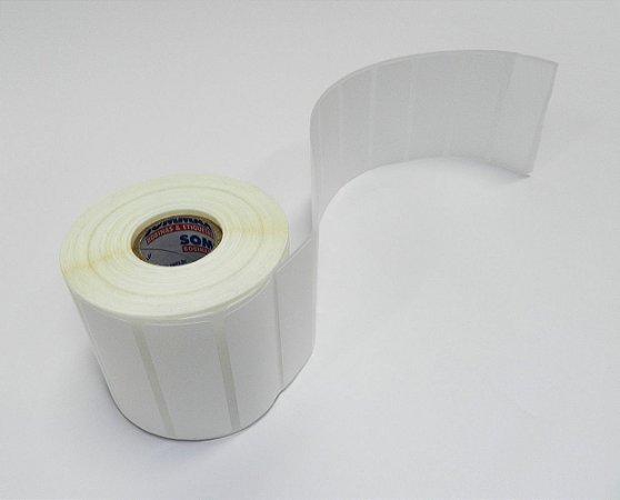 Etiqueta 60x20mm Filme Bopp Fosco Adesivo com 1304 etiquetas