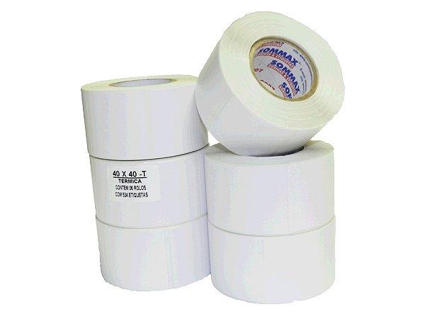 Etiqueta Térmica para Balança - 40X40mm C/470 unidades no rolo