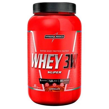 Super Whey 3w 907g - Integral Medica Chocolate