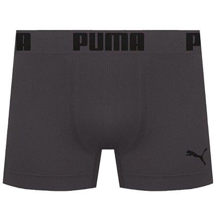 Cueca Boxer Puma Sem Costura - Chumbo G