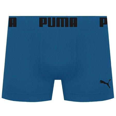 Cueca Boxer Puma Sem Costura - Azul Petróleo G