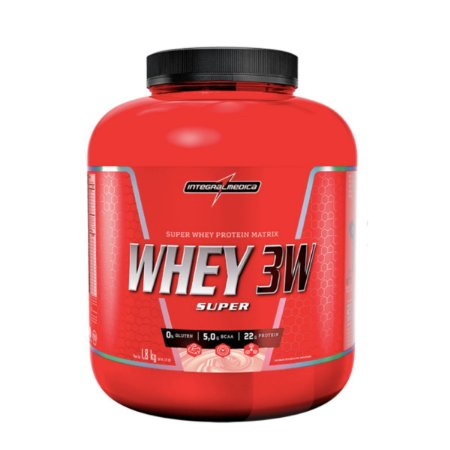 Super Whey 3w 1,8kg - Integral Medica Chocolate