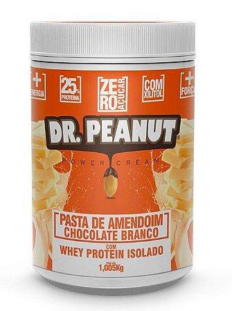 Pasta De Amendoim Chocolate Branco Com Whey 1kg - Dr Peanut