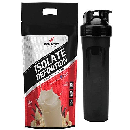 Whey Isolate Definition (1.8kg) Body Action - Baunilha + Coqueteleira