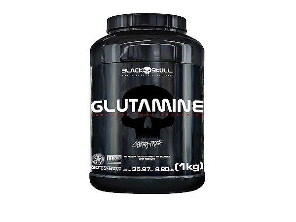 Glutamina 1kg - Black Skull