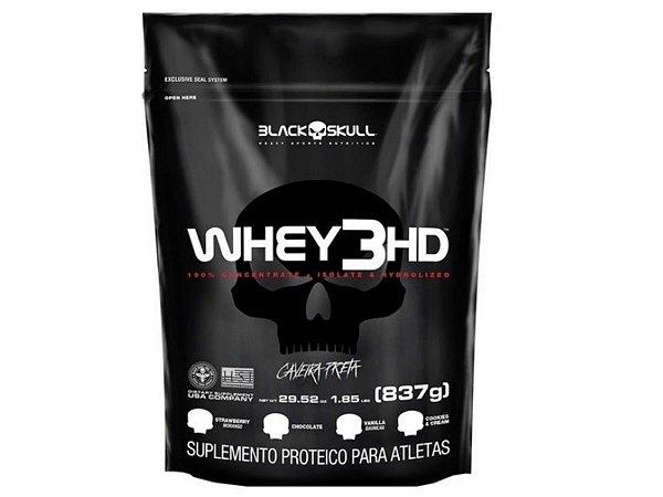 Whey 3hd 837g - Black Skull Chocolate