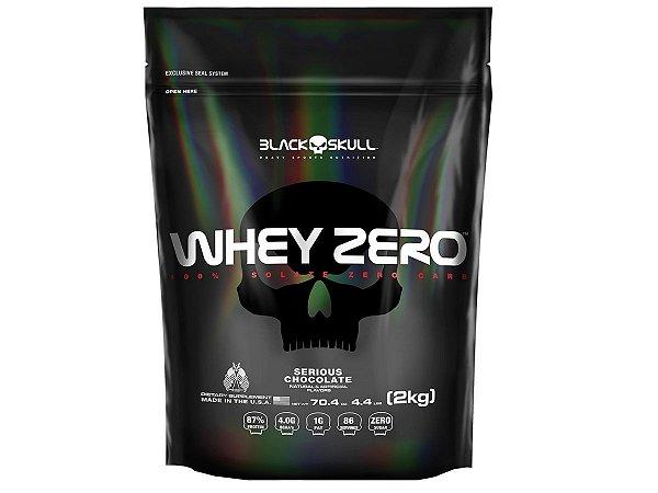 Whey Zero Refil 2kg - Black Skull Morango