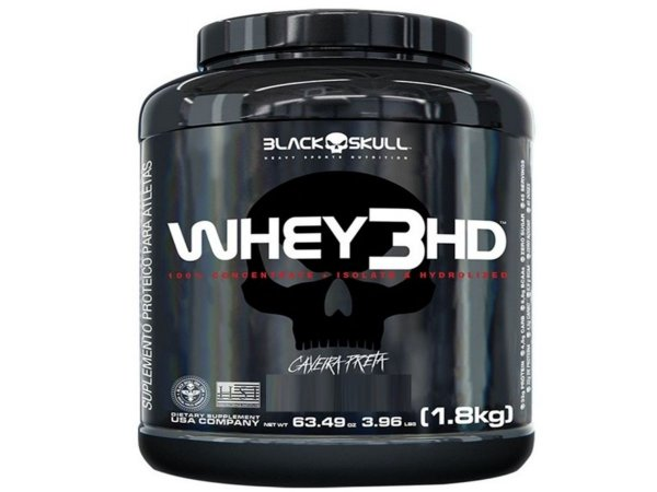 Whey 3hd 1,8kg Chocolate - Black Skull