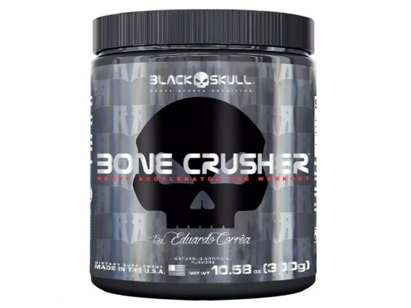 Bone Crusher 300g - Black Skull Grape (Uva)