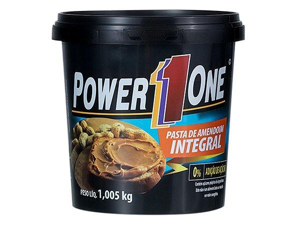 Pasta De Amendoim Integral 1kg - Power One Tradicional