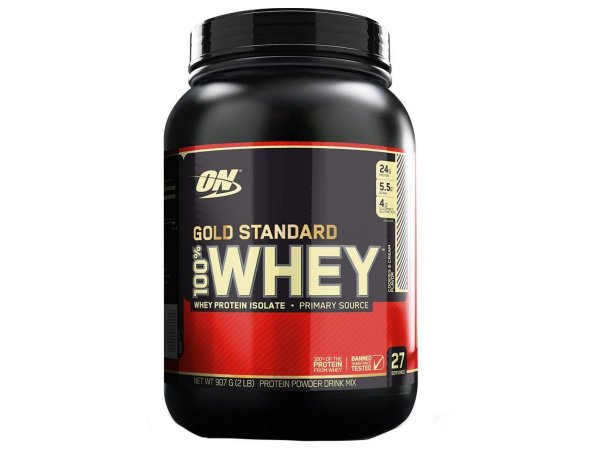 Whey Gold Standard 1090g - Optimum Nutrtion - Baunilha