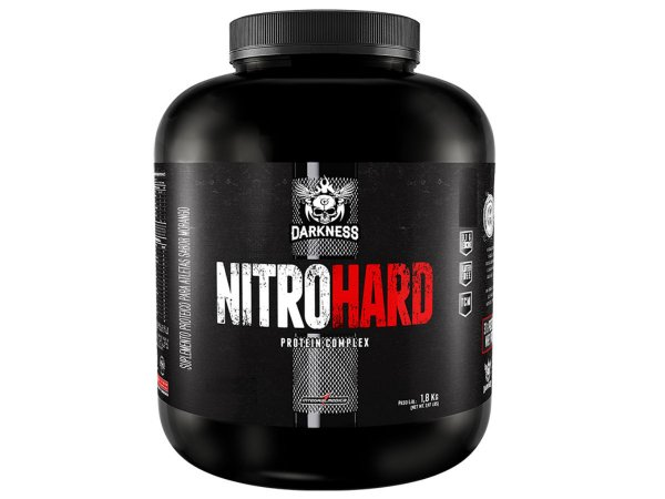 NITRO HARD 1,8kg - Integral Medica Chocolate com Amendoim