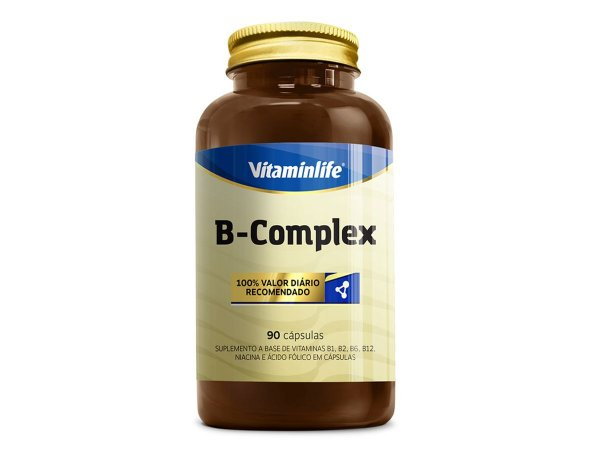 Complexo - B - Vitaminlife 90 Capsulas