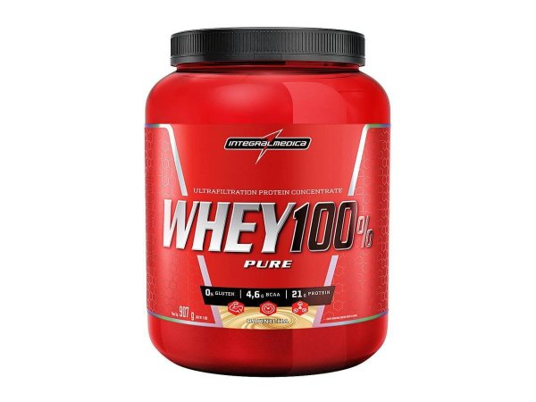 Super 100% Whey 907g Chocolate Integral Medica