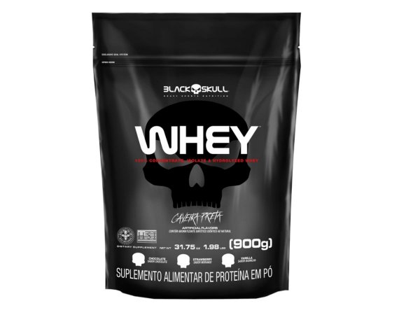 Whey Refil 900g - Black Skull Chocolate