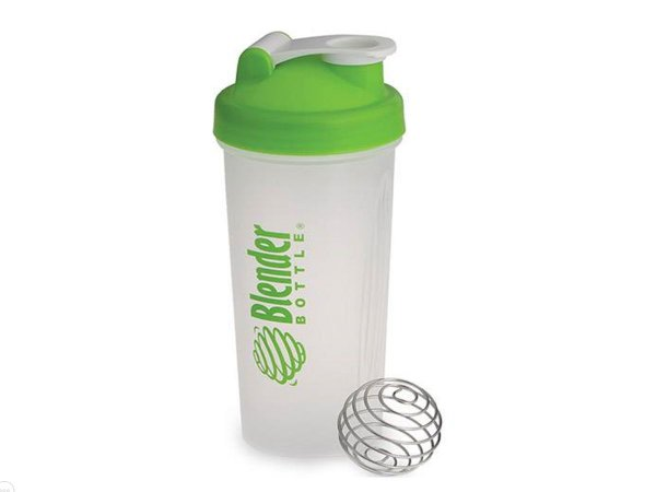 Coqueteleira Blender Bottle 600ml - Cor Transparente Verde