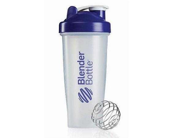 Coqueteleira Blender Bottle 600ml - Cor Transparente Roxo