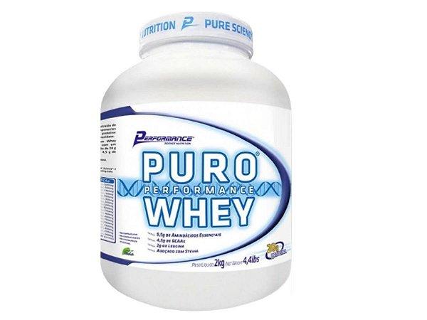 Puro Whey 2kg Performance Nutrition - Baunilha