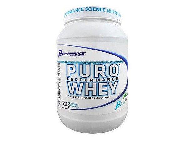 Puro Whey 909g Performance Nutrition - Baunilha